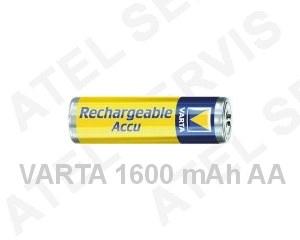 Akumulátor pro telefon Baterie AA nabíjecí 1600mAh VARTA