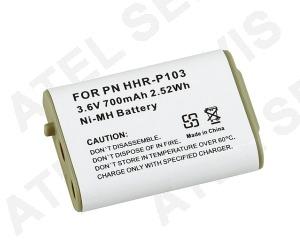 Akumulátor pro telefon Baterie Panasonic HHR-P103 ekvivalent