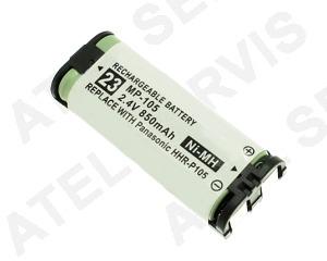 Akumulátor pro telefon Baterie Panasonic HHR-P105 ekvivalent