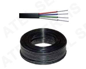 Telefonní příslušenství Kabel telefonní černý 4 ž