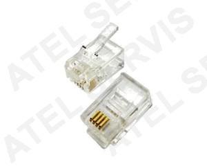 Telefonní příslušenství Konektor RJ12 6/4 telefonní