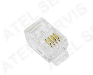 Telefonní příslušenství Konektor RJ9 4/4 sluchátkový