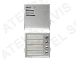 Dveřní komunikátor NUDV4 - dveřní telefon