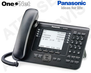 Digitální telefon Panasonic KX-NT560X-B