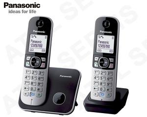 Bezdrátový telefon Panasonic KX-TG6812 DUO