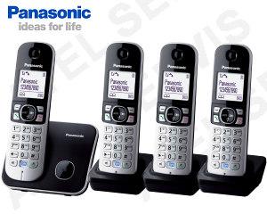Bezdrátový telefon Panasonic KX-TG6812 QUATTRO