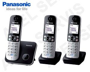 Bezdrátový telefon Panasonic KX-TG6812 TRIO