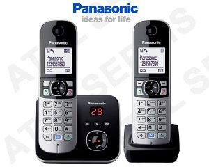 Bezdrátový telefon Panasonic KX-TG6821FXB DUO