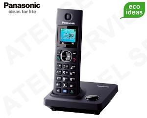 Bezdrátový telefon Panasonic KX-TG7851FXB
