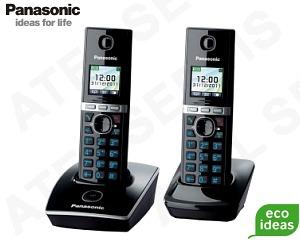Bezdrátový telefon Panasonic KX-TG8051FXB DUO