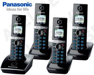 Bezdrátový telefon Panasonic KX-TG8051FXB QUATTRO