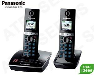 Bezdrátový telefon Panasonic KX-TG8061FXB DUO