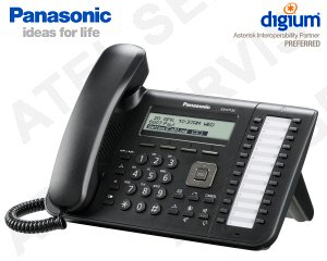 VoIP telefon Panasonic KX-UT133NE-B
