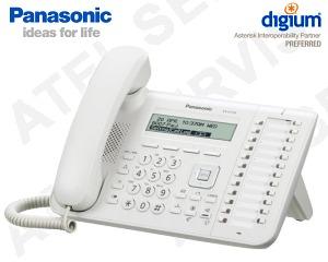 VoIP telefon Panasonic KX-UT133NE-W