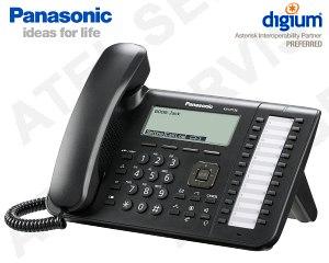 VoIP telefon Panasonic KX-UT136NE-B