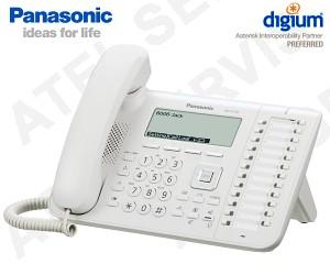 VoIP telefon Panasonic KX-UT136NE-W