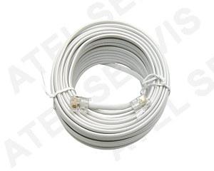 Telefonní příslušenství Telefonní kabel 10m bílý