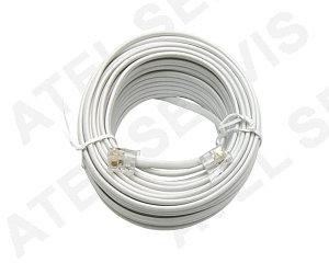 Telefonní příslušenství Telefonní kabel 20m bílý