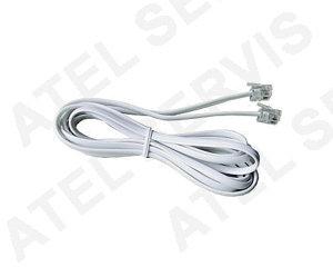 Telefonní příslušenství Telefonní kabel 2m bílý