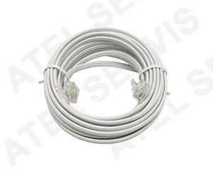 Telefonní příslušenství Telefonní kabel 5m bílý