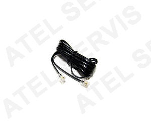 Telefonní příslušenství Telefonní kabel 5m černý