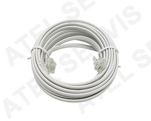 Telefonní příslušenství Telefonní kabel 7m bílý